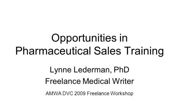 Freelance Medical Writer