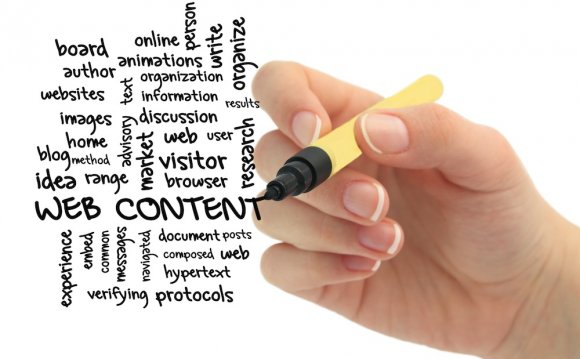 Web content writing has