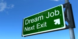 dream job sign 400x200