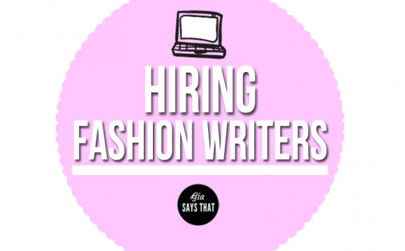Freelance Fashion Writer Jobs