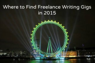 Freelancing writing gigs for 2015