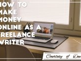 Making money as a Freelance writer