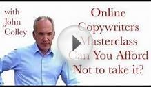 """Copywriting"" Online Copywriters Masterclass Can you"