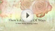 Freelance Writing Training - Find Out About Online Writing