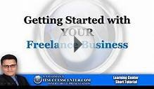 ITSC urdu Tutorial -- Getting Started with Your Freelance