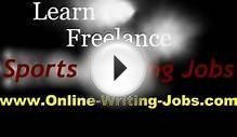 My Freelance Career : All About Freelance Sports Writing Jobs