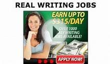 Real Writing Jobs - Urgently Needed: Technical Writing