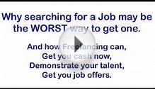 Winning Freelance Work - The fastest way to get a job, and