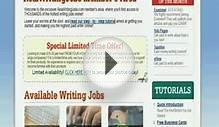Writing Jobs Online - Writing Opportunities From Best